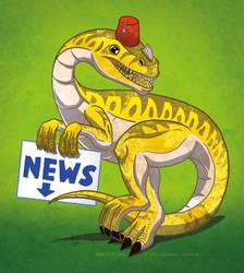 Hiatus dinosaur by LordRembo