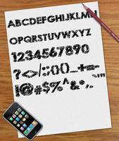 Scribble Font by osmanassem