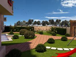 Loezyana landscape 2 by osmanassem
