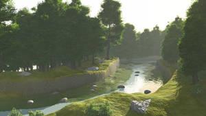 Switzerland River 03 by osmanassem