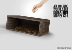 Donation Money by osmanassem