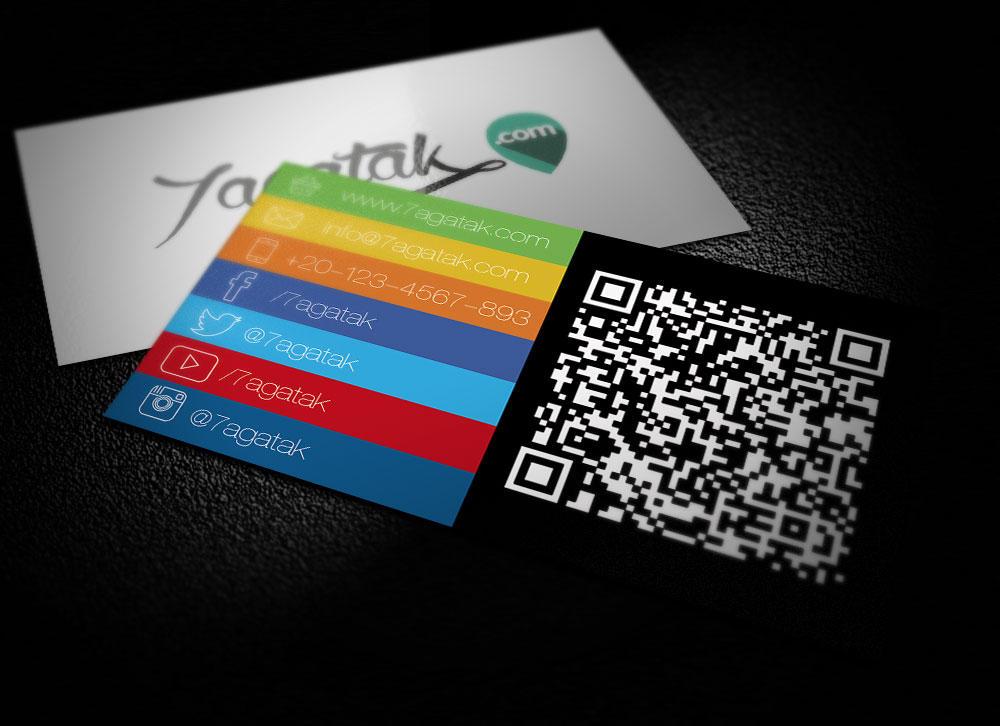 7agatak.com Businesscard by osmanassem