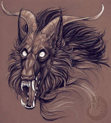 Beast!Dorian 01 by Simkaye