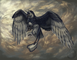 Flight Father by Simkaye