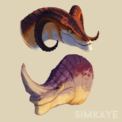 Dragon Designs by Simkaye