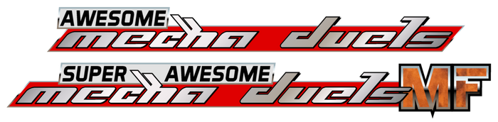 Fun With Typography: Super Awesome Mecha Duels by Bjornieman