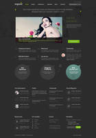 Organic PSD Template by DaJyDesigns