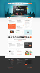 Smarty - Business Portfolio for Creative Agencies2 by DaJyDesigns