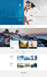 Travel Agency - Multipurpose Booking PSD Template by DaJyDesigns