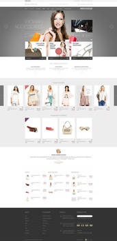 Daily Brands Store - eCommerce PSD Template by DaJyDesigns
