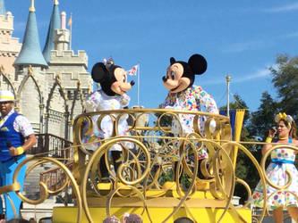 Mickey and Minnie Celebration 5 by CottonCatTailToony