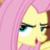 Pony Fluttershy Smirk Emoticon. by catdragon4
