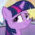 Princess Twilight Sparkle You Mean Well Emoticon. by catdragon4