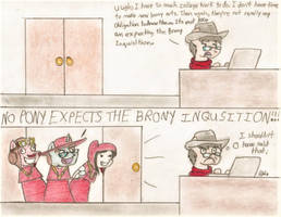 The Brony Inquisition by BrogarArts