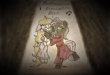 Mother knows best (MLP/Disney) by BrogarArts