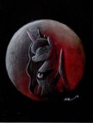Lunar Eclipse by BrogarArts