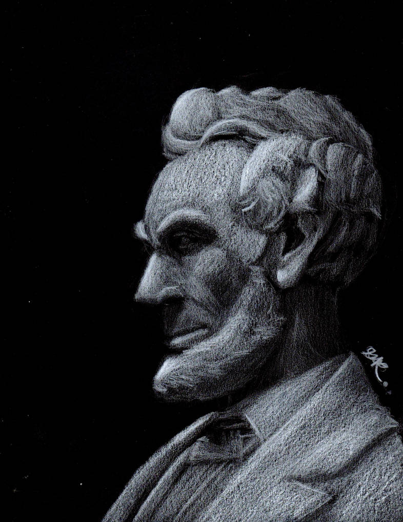 Abraham Lincoln by BrogarArts