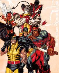 X-MEN 75' by RonAckins