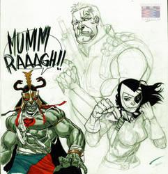 Mumm Ra by RonAckins