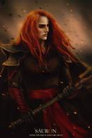 Sauron by BadAssVillain