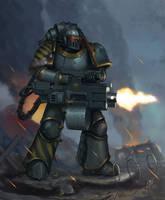 Iron warriors - Iron Havoc by Advisorium