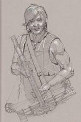 Daryl Dixon - The Walking Dead by Svendsgaard