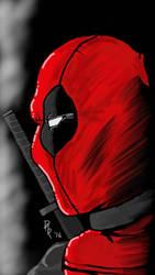 Deadpool  by iDraw97