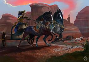 Race of kamikazes by serranef