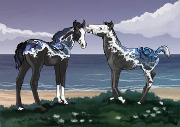 Twins by serranef