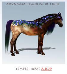 Temple horse A.D. 79 by serranef