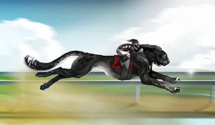 Black on track by serranef