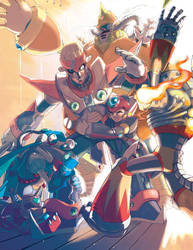 MMX7: Charismatic Leader by prnnography