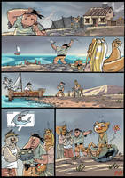 The old Bear and the sea p.4 by sledziu