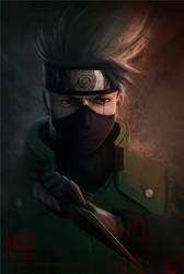Hatake Kakashi (Naruto) by Lensar