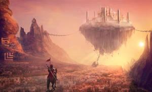 Soaring Castle by Lensar