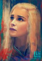 Daenerys Targaryen by Lensar