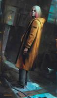 Yellow coat d by Lensar