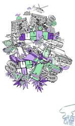purple an mint by JU5