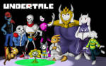 Undertale - wallpaper by Zeven-Dust