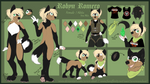 | Fursona, Robyn | - Reference - 2018 by Zeven-Dust