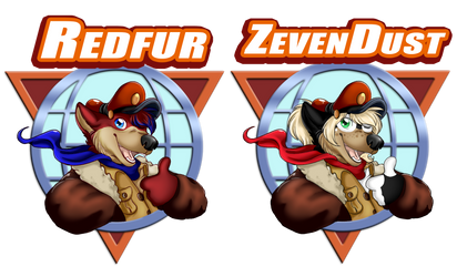Eurofurence Badge's - 2018 by Zeven-Dust
