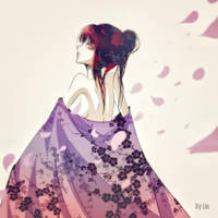 Petals of sakura by Lio-Sun
