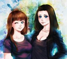 Commission: BestFriends by Lio-Sun