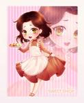 Chibi Commission: Sweet Shop by Lio-Sun
