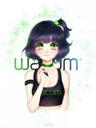 Wacom-chan by Lio-Sun
