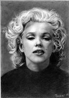 Marilyn Monroe by AllanTR