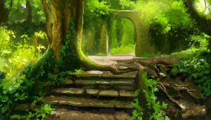 Ancient forest by CriAnn