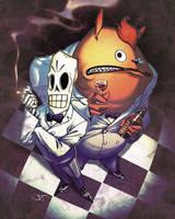 Grim Fandango by Bisart