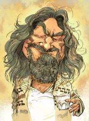 Jeff Bridges - The great Dude. by Bisart
