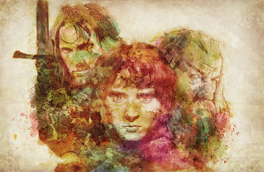 The Lord of the Rings by miriamuk21